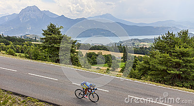The Cyclist Daniele Bennati Editorial Stock Image