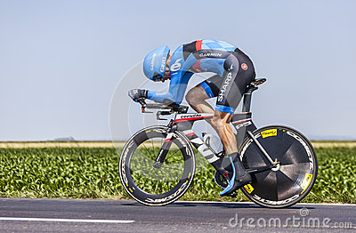 The Cyclist David Millar Editorial Photography