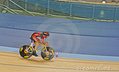 Cyclist Eloy Teruel Rovira of Spain Editorial Stock Photo