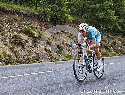 The Cyclist Enrico Gasparotto Editorial Image