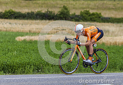 The Cyclist Igor Anton Hernandez Editorial Stock Photo