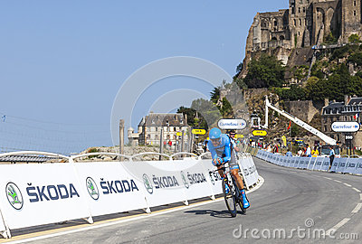 The Cyclist Jack Bauer Editorial Stock Photo