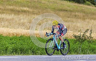 The Cyclist Jan Bakelants Editorial Photography