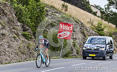 The Cyclist Jens Voigt Editorial Image