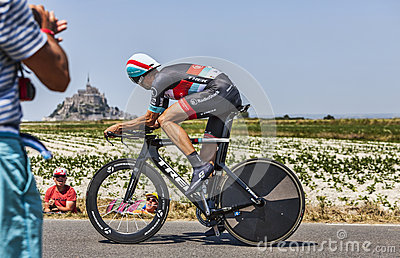 The Cyclist Jens Voigt Editorial Stock Image