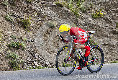 The Cyclist Jerome Coppel Editorial Image