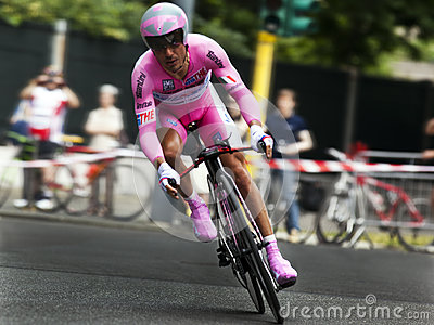Cyclist Joaquin Rodriguez Oliver Editorial Stock Image