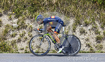 The Cyclist Jonathan Castroviejo Editorial Stock Photo