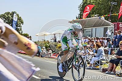 The Cyclist Julien Simon Editorial Stock Photo