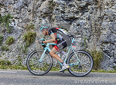 The Cyclist Laurent Didier Editorial Photography