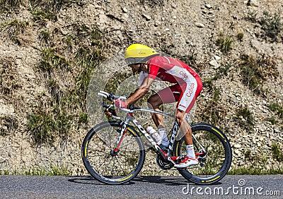 The Cyclist Luis Angel Mate Mardones Editorial Image