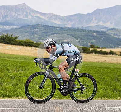 The Cyclist Mark Cavendish Editorial Stock Image
