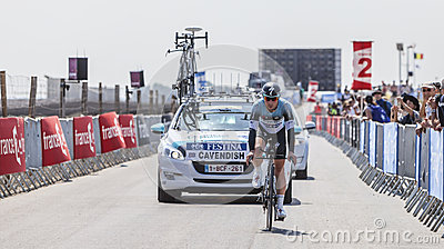 The Cyclist Mark Cavendish Editorial Photography
