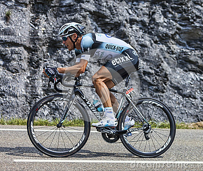 The Cyclist Matteo Trentin Editorial Stock Image