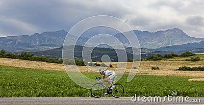 The Cyclist Maxime Mederel Editorial Photo