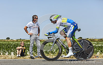 The Cyclist Michael Albasini Editorial Stock Photo