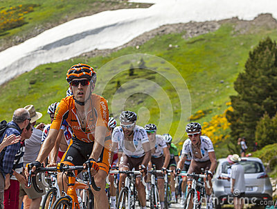 The Cyclist Mikel Nieve Iturralde Editorial Photography