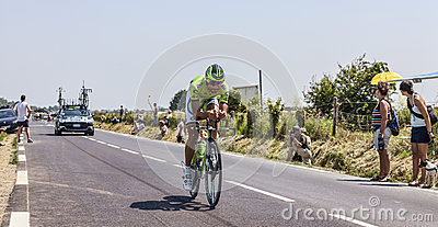 The Cyclist Moreno Moser Editorial Image