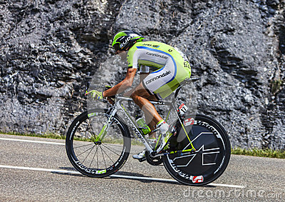 The Cyclist Moreno Moser Editorial Stock Image