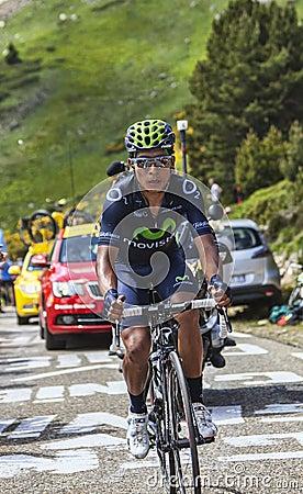 The Cyclist Nairo Alexander Quintana Rojas Editorial Photography