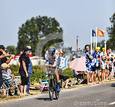 The Cyclist Rui Alberto Faria da Costa Editorial Stock Photo