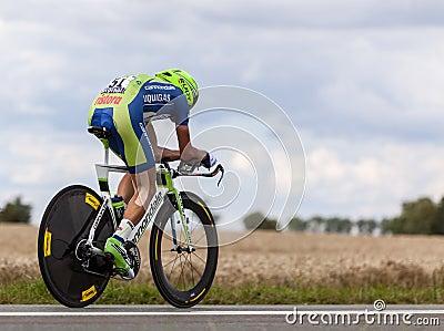 The Cyclist Nibali Vincenzo Editorial Photography