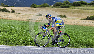 The Cyclist Nicolas Roche Editorial Photography