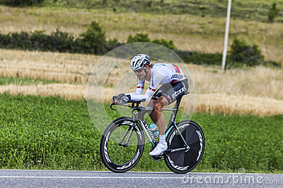 The Cyclist Peter Velits Editorial Stock Photo