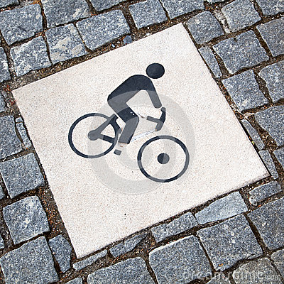 Cyclist pictogram