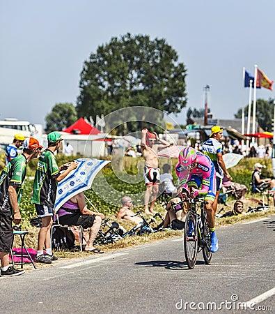 The Cyclist Przemyslaw Niemiec Editorial Photography
