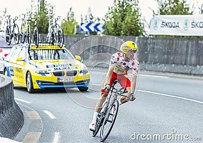 The Cyclist Rafal Majka Editorial Photo