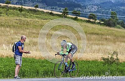 The Cyclist Robert Gesink Editorial Photo