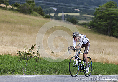 The Cyclist Romain Bardet Editorial Stock Image