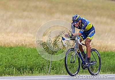 The Cyclist Roman Kreuziger Editorial Photo