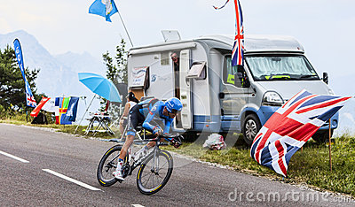 The Cyclist Ryder Hesjedal Editorial Stock Photo