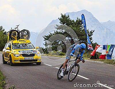The Cyclist Ryder Hesjedal Editorial Photo