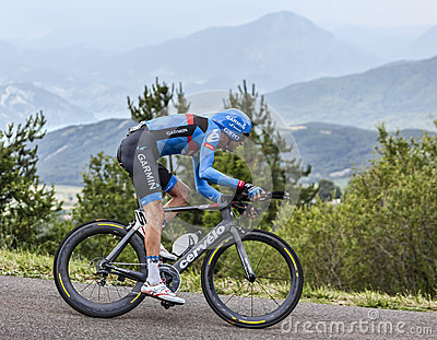 The Cyclist Ryder Hesjedal Editorial Photo