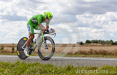 The Cyclist Sagan Peter Editorial Photo
