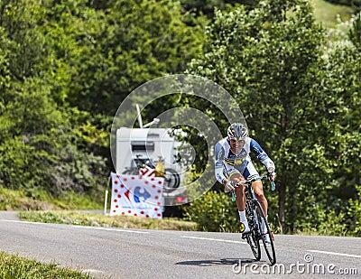 The Cyclist Sergey Lagutin Editorial Stock Image