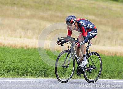 The Cyclist Steve Morabito Editorial Stock Image