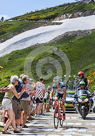 The Cyclist Sylvain Chavannel Editorial Stock Photo