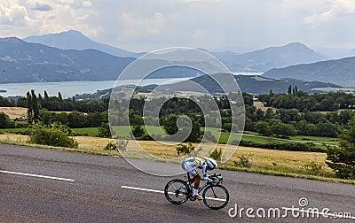 The Cyclist Thomas De Gendt Editorial Stock Image