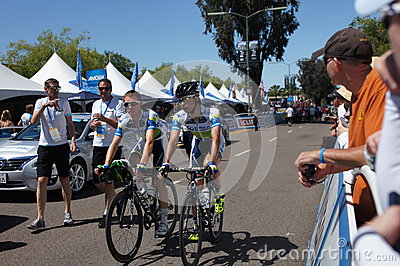Cyclist 2013 Tour of California Editorial Stock Image