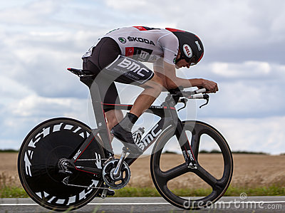 The Cyclist Van Garderen Tejay Editorial Image