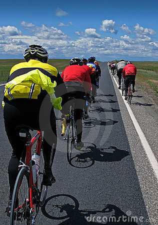 Cyclists Royalty Free Stock Images - Image: 2302029