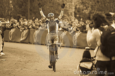 Cyclo-cross National Championship - Elite Men Editorial Photo