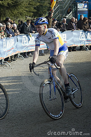 Cyclo cross rider Editorial Photography