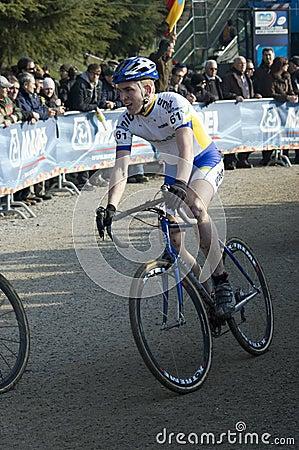 Cyclo cross rider Editorial Photography