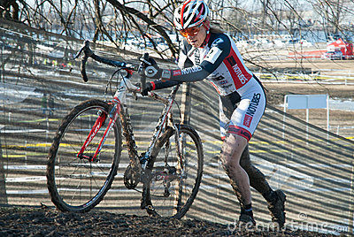 Cyclocross Race Editorial Image