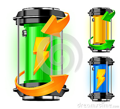 Cylinder of alternative energy